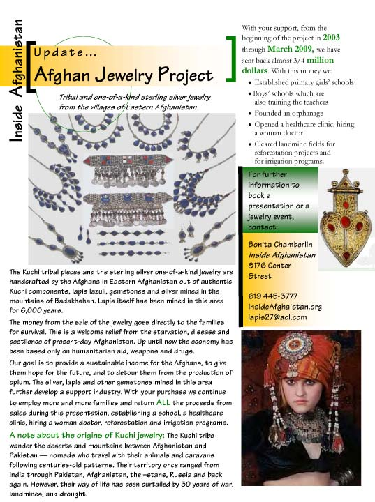 Afghan Jewelry Project